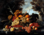 The Abundance Of Fruit by Severin Roesen