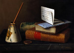 Still Life With Letter To Mr Lask, 1879 by William Michael Harnett