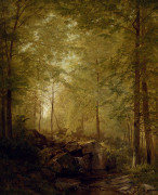 In The Woods by William Trost Richards