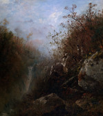 Glenellis Falls, New Hampshire by John Frederick Kensett