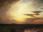 Twilight On The Western Plains by Samuel Coleman