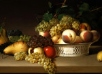 Fruit In A Chinese Basket by James Peale