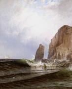 Breaking Surf by Alfred Thompson Bricher