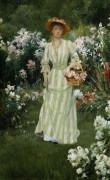 Picking Summer Flowers by Francis Coates Jones