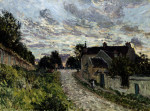 The Path To Louveciennes by Alfred Sisley