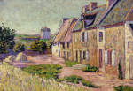 Saint-Briac, Cour A La Ville Hue by Paul Signac