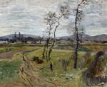 Gennevilliers Plain by Claude Monet