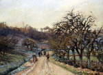 Orchard Near D'Osny, Pontoise by Camille Pissarro