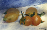 Still Life With Lemons And Oranges by Pierre Auguste Renoir
