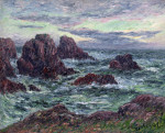 The Evening At Ouessant by Henry Moret