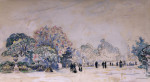 The Tuilleries, Paris by Paul Signac