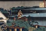 The Exiled Poet Nakamaro by Katsushika Hokusai