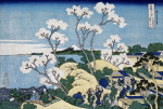 'Fuji From Gotenyama At Shinagawa On The Tokaido by Katsushika Hokusai
