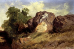 Landscape by Jose Maria Velasco
