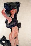 Kneeling Girl (Kniedes Maedchen)