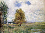 La Plaine De Veneux-Nadon by Alfred Sisley