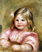Portrait De Coco by Pierre Auguste Renoir