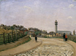 Upper Norwood, Crystal Palace, London by Camille Pissarro