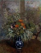 Bouquet De Fleurs by Alfred Sisley