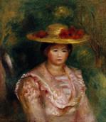 Buste De Femme (Gabrielle) by Pierre Auguste Renoir