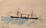 Cunard Steamship  Company 'Scotia' by Christie's Images