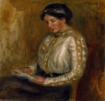 Woman Reading by Pierre Auguste Renoir