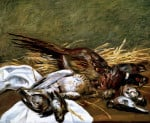 Pheasant, Sparrow And Grouse by Pierre Auguste Renoir