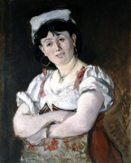 The Italian by Edouard Manet