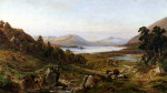 Head Of Lough Corrib, Connemara by John Faulkner