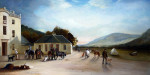 Sir Harry Goodricke With A Shooting Party Setting Out From Mar Lodge, Aberdeenshire by John Ferneley