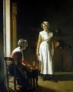 Kitchen Maids by Joseph Bail