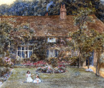 A Country House by Helen Allingham