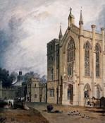 Cassiobury West Front c.1807