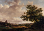 View On The Meuse, Holland by Frederik Kruseman