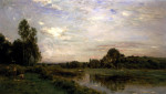 Banks Of The Oise by Charles Francois Daubigry