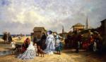 At The Seashore by Antony Paul Emile Morlon