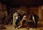 The Cardplayers' Dispute by Jean-Baptiste Madou