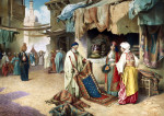 The Carpet Seller by Frederico Ballesio