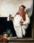 The Innkeeper by Eduard Von Grutzner