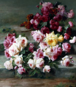 Roses by Jean-Baptiste Robie