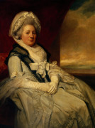Portrait Of Mrs Uppleby by George Romney