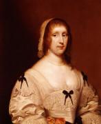Portrait Of Lady Wilhemina Shelley by Cornelis Janssen Van Ceulen