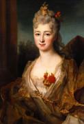 Portrait Of A Lady by Nicholas de Largilliere