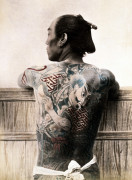 A Japanese Tattooed Man by Christie's Images