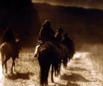 The Vanishing Race, Navaho by Edward S. Curtis