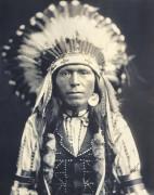Red Thunder, Nez Perce (Nephew Of Chief Joseph) by Edward S. Curtis