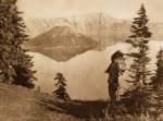 The Chief-Klamath by Edward S. Curtis