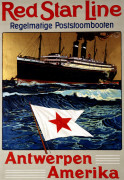 Red Star Line, Antwerpen America by Christie's Images