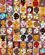 Faces by Kitti Narod
