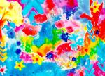 Mystic poppies by Luisa Gaye Ayre